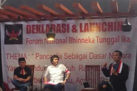 Fornas Bhinneka Tunggal Ika Dideklarasikan
