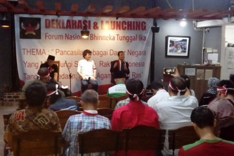 Forum Nasional Bhineka Tunggal Ika Kutuk Radikalisme atas Nama Agama