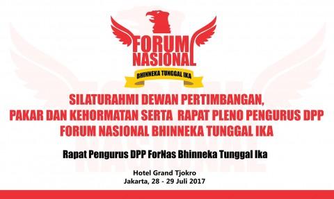 Silaturahmi Dewan Pertimbangan Dan Kehormatan Serta Rapat Pleno Pengurus DPP